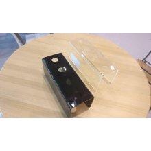 Porta Conos Helado Metacrilato Negro 4mm 25x10x9cm 2.6cm 0550.NEGRO Alexalo (1 ud)