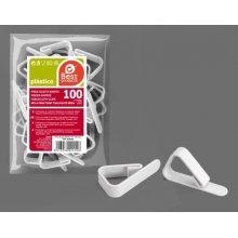 Bolsa de 100 Pinzas Sujeta manteles en color Blanco 245500 (1 ud)
