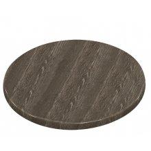 Tablero de mesa redonda 600mm wengé veteado HC292 Bolero