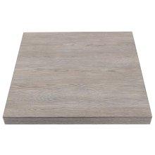 Tablero mesa cuadrado 600mm madera Vintage GR323 Bolero