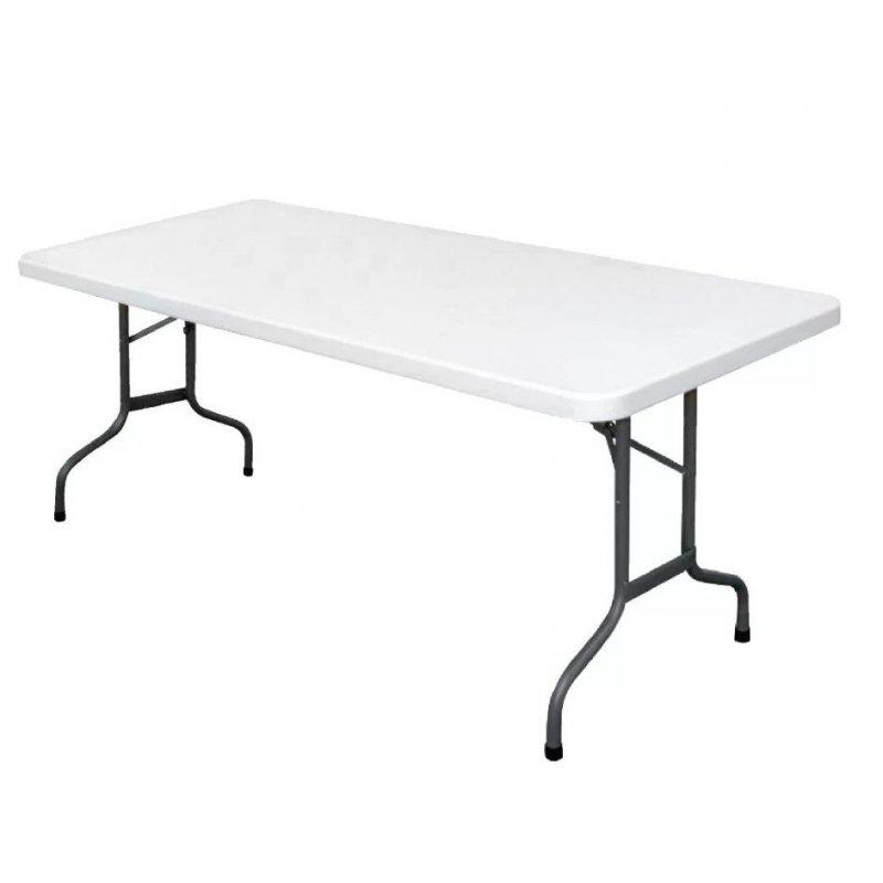 Mesa multiusos rectangular plegable 183cm u579 bolero for Mesa plegable multiusos