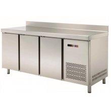 Mesa Snack Refrigerada 4 puertas Fondo 600 de 2542x600x850h mm MRCH-250
