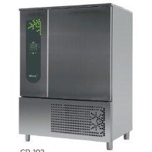 Abatidor de Temperatura Mixto 10 bandejas GN2/1 y 600x400 mm de 1270 x1090 x1800h mm CR-102