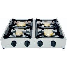 Cocina a Gas Sobremesa 4 quemadores (con Termopar) PRO7499