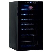 Armario de Vino de Una Temperatura con Puerta de Vidrio 28 Botellas 430x480x800h mm CV-28-C