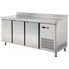 Mesa GN/1 Refrigerada 4 puertas Fondo 700 de 2242 x700 x850h mm TRCH-225