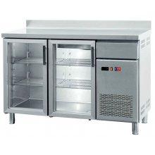 Frente Mostrador Refrigerado con Puertas de Vidrio 2 puertas de 1442 x600 x1045h mm FMCH-150V