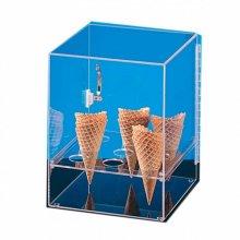 Expositor para 9 conos de helado 31x31x38cm Acrilico 119.84 Garcia de Pou (1 ud)