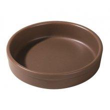 Caja de 6 Cazuelas para horno de Porcelana de 12x2,5cm 01S1071 Eurodra (caja 6 uds)