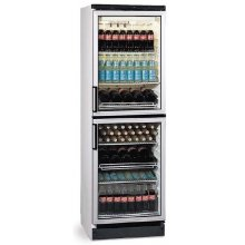 Armario refrigerado expositor 1 Puerta doble 347 litros EUROFRED FKG370/2P
