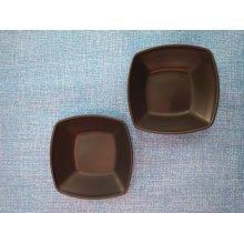 Pack 6 uds Bol Cuadrado de 8'5x8'5x2'5 cm varios colores 0108 Fervik (6 uds)