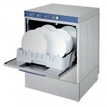 Lavavajillas Industrial con Bomba de Desagüe y Cesta de 50x50cm de 590 x600 x810h mm ARISCO CH500ECOB
