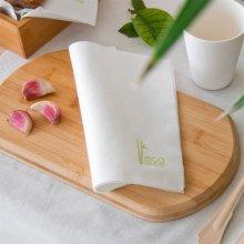 Pack 50 Servilletas Biodegradables de fibra de Bambu-Eco 100% de 40x40 221.90 Garcia de Pou (Pack 50 uds )
