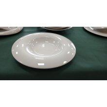 Plato Aro de 31cm Orbe Blanco PV150000 Porvasal ( Caja 6 uds)