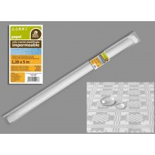 Rollo Mantel Plastificado Amarillo de 1'20x5 metros 10031 Best Product (1 rollo)