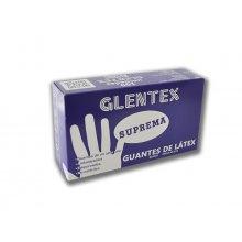 Caja Guantes latex GLENTEX Talla M/M GLO002 Dicaproduct (Caja 100 uds)