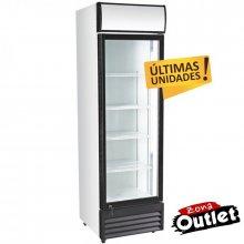 Armario Expositor Refrigerado 360 litros Puerta de Vidrio de 580 x610 x1980h mm CS360B-OUT-20 (OUTLET)