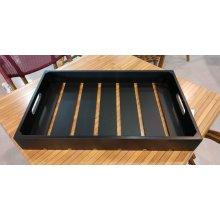 Caja Madera de Acacia GN1/1 de 53x32'5x7cm color Negro CRATE11BK Dbmark (1 ud)
