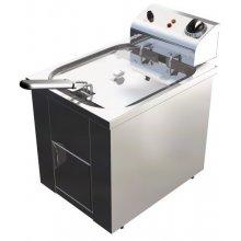 Freidora Eléctrica 10 litros Trifásica Uso Profesional de 325 x440 x360h mm FAP10TRI