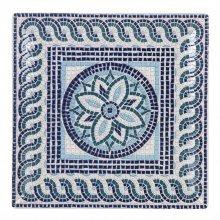 Plato Presentación Ming II Mayolica de 30x30x2'5cm B758168Y2 VIEJO VALLE (Caja 6 uds)