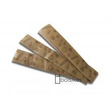 Caja de 1000 Bolsas de Papel para Baguet de 9x5x51cm Kraft BPA010 DICAPRODUCT (1 caja)