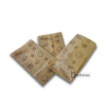Caja 1000 bolsas Papel decorada kraft Pasteleria de 14x6x26cm Mondis BPA011 Dicaproduct (1 caja)