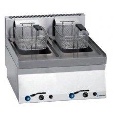 Freidora a gas 8+8 litros de 7+7Kw Snack 650 SFG-60 E EDENOX