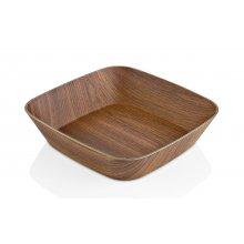 Bowl Cuadrado Evelin PS de 17'5x17'5x5cm B61210216 VIEJO VALLE (Caja 12 uds)