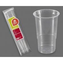 Caja de 30 paquetes de 50 Vasos de plástico Pinta de Cerveza de 570cc 271100C BEST PRODUCT (1 caja) (OUTLET)