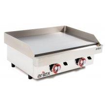 Plancha a gas de asar Industrial en acero rectificado de 15 mm con medidas 610x457x240h mm 60PGR