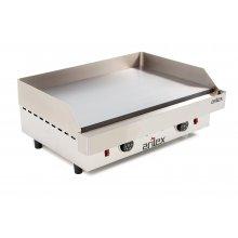 Plancha asar eléctrica Industrial en acero rectificado de 15 mm con medidas 610x457x240h mm 60PER