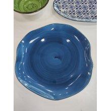 Plato Llano de 25cm Stone Azul Cobalto 4636-6590/17 Lubiana (caja 6 uds)