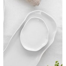 Plato Gominola de 12.5cm Stone Blanco 4613 Lubiana (caja 6 uds)
