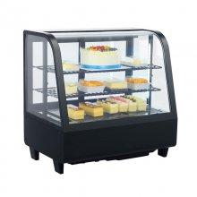 Vitrina Refrigerada sobremesa 100 litros Negra XCW100L-N