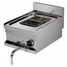 Cocedor de Pasta Eléctrico Sobremesa de 14 litros 3kw de 400x600x265h mm EMH604 ARISCO