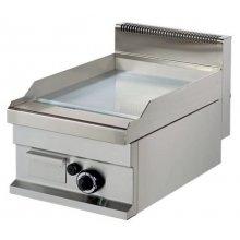 Fry tops a gas sobremesa Placa Cromo duro 15 mm 6,0kw 400x700x290h mm GG711SC ARISCO