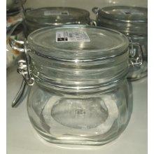 Tarro Hermético de Cristal Fido de 0,5 Litros 1-149210 ALAR (1 ud)