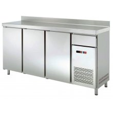 Frente Mostrador Refrigerado 4 puertas con Tolva de café 2542x600x1050h mm FMCH-250TV
