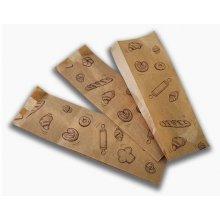 Caja 2000 uds Bolsas de papel kraft para panaderia de 9x5x30 cm BPA009 DICAPRODUCT (1 caja)