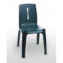 Silla con asiento acanalado SALSA