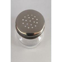 Pack de 6 Saleros Cristal de 5x5cm con tapón Inox 1529 SUPREMINOX (1 pack)