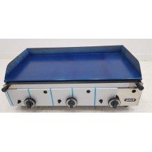 Plancha a gas Profesional en acero laminado de 14 mm con medidas 825x480x305h mm(OUTLET)