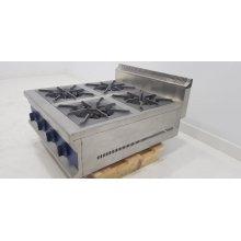 Cocina a gas sobremesa 4 fuegos 4x3 kw 670x750x400h mm GBR4