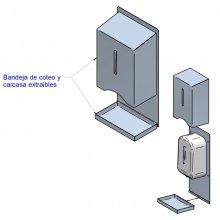 Dispensador de Gel/Jabón automático 2 modelos DG-I EDENOX