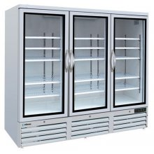 Armario Mantenimiento de Congelados para Exposición con cabezal iluminado de 2 puertas ACE-902-C HC EDENOX