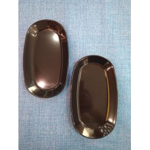 Pack de 10 Rabanera de 17,5x10cm Blancas o negras a elegir 0105 FERVIK (1 Pack)