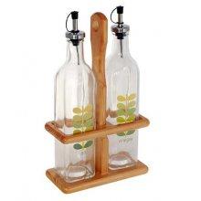Soporte para Vinagreta con Botellas de 17x8x35cm 6172 INALSA (1 ud)