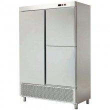 Armario Snack Refrigerado Doble 2 medias puertas 1388x726x2076h mm ARCH-1203