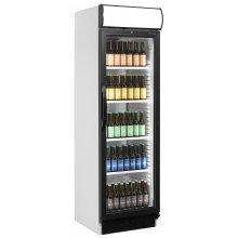 Armario Refrigerado 1 puerta de cristal color NEGRO CEV425-I BLACK
