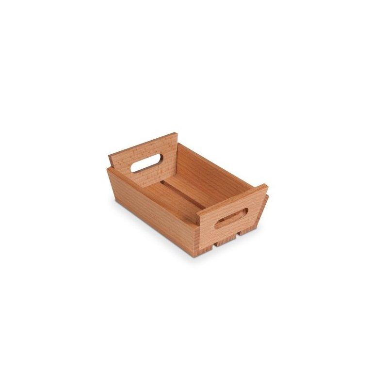 Mini caja de madera con asas para frutas de 15x10x5 cms - Caja de frutas de madera ...